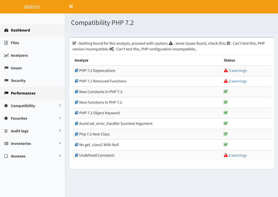 Get ready for PHP 7.2 : general report